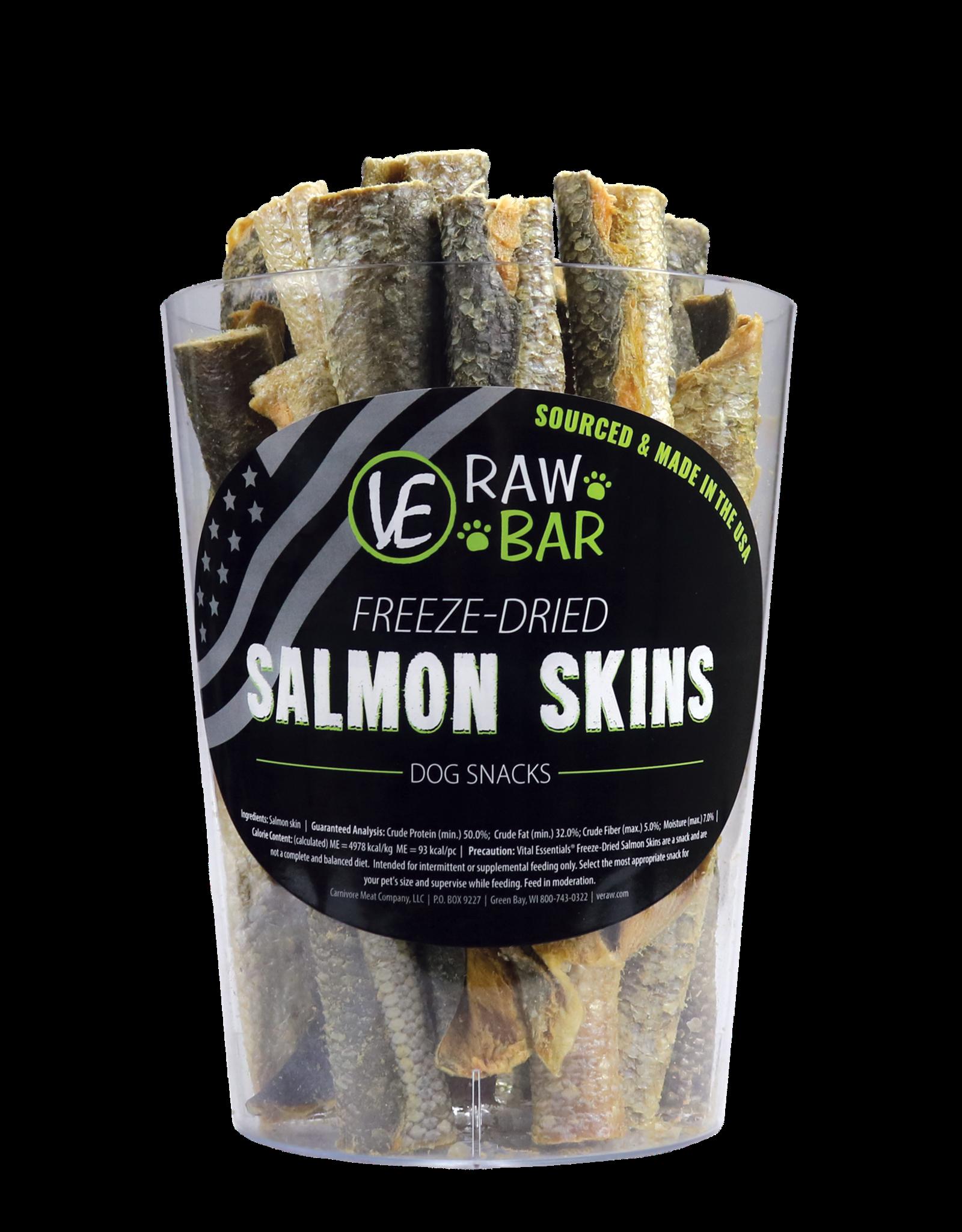 Vital Essentials Freeze-Dried Salmon Skin