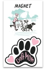 Primitives By Kathy Magnet - Dog Mom