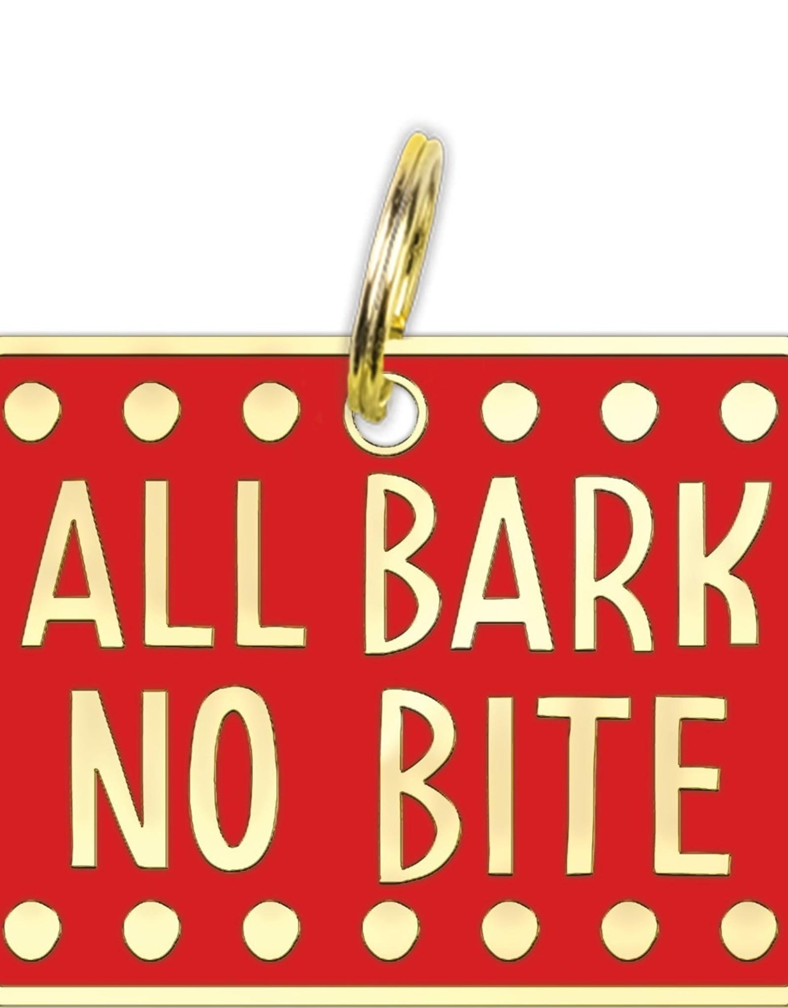 Primitives By Kathy Collar Charm Bark no Bite