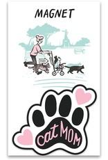Primitives By Kathy Magnet - Cat Mom