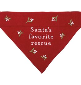 Primitives By Kathy Bandana - Santa's Fave Rescue