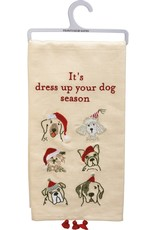 Primitives By Kathy Towel - Dress up Your Dog Season