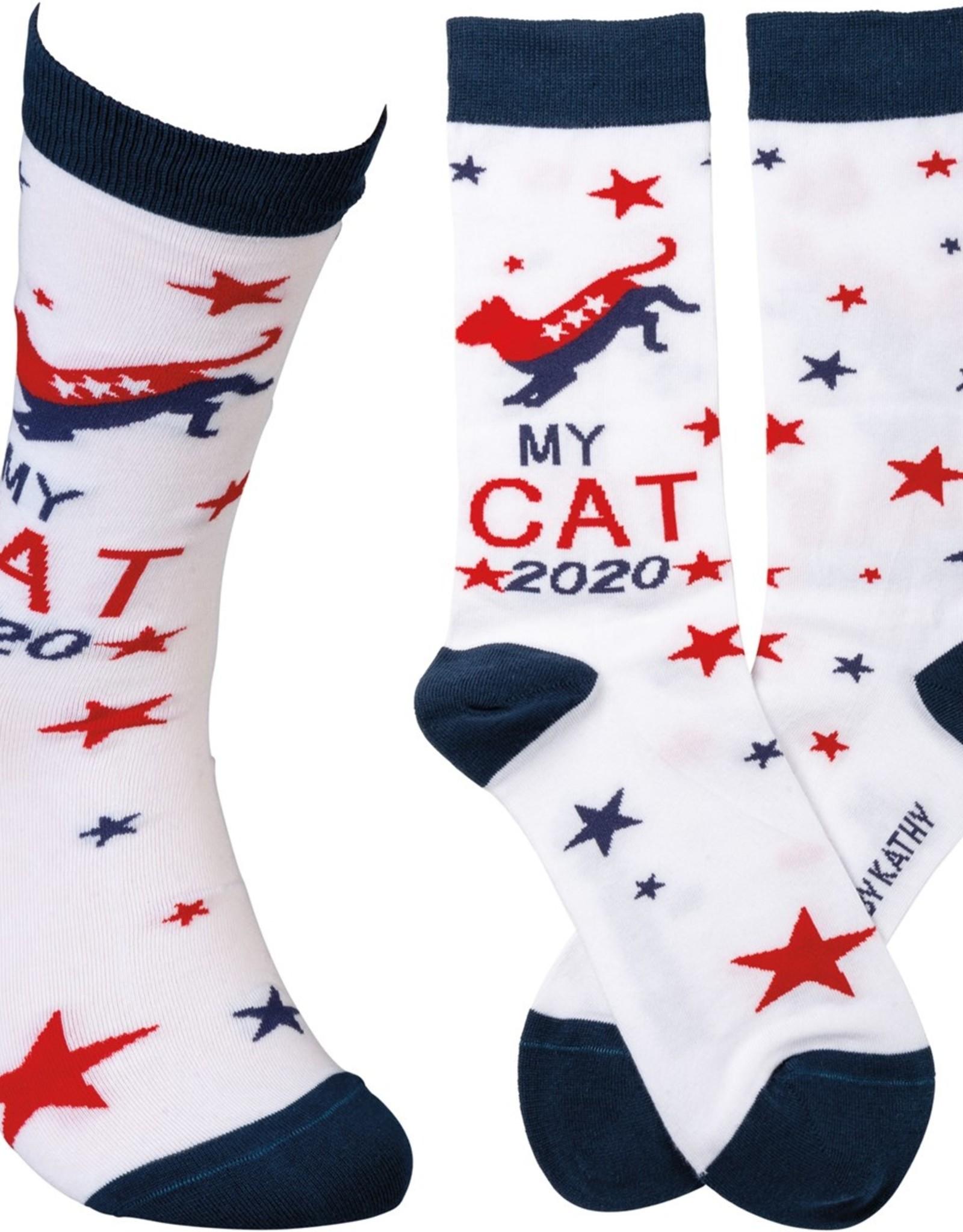 Primitives By Kathy Socks - My Cat 2020