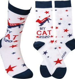 Primitives By Kathy Socks - My Cat 2020