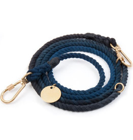Found My Animal Lead - Navy Ombre S