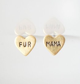 Grey Theory Mill Earrings - Fur Mama Hearts