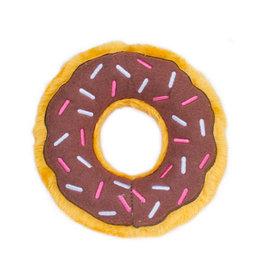 Zippy Paws Chocolate Donut - Regular