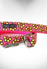Walk-e-Woo Yellow Daisies on Pink
