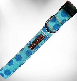 Walk-e-Woo Turquoise Dot