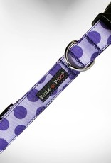 Walk-e-Woo Purple Dot