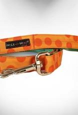 Walk-e-Woo Orange Dot
