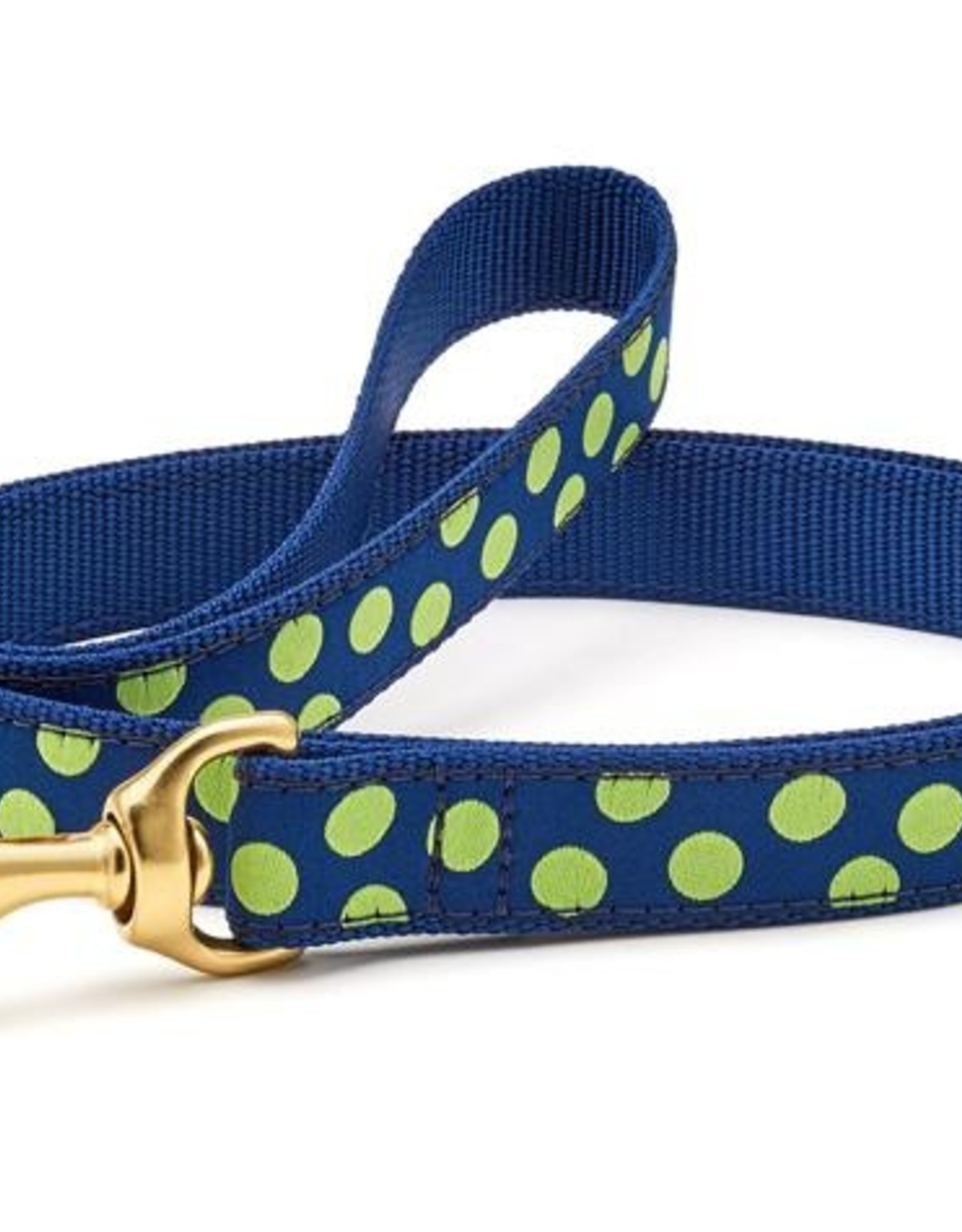 Up Country Inc. Navy Lime Dot