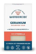 Wondercide Geranium Shampoo Bar