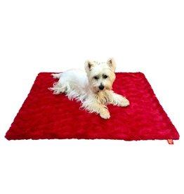 Dog Squad Blanket - Bella Red 16X16