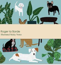 Roger LaBorde Sticky Note - Dogs