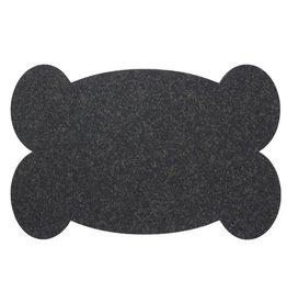 Ore' Pet Big Bone Placemat - Black
