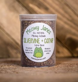 Meowy Janes Catnip & Silvervine Blend 3.75oz