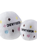 Haute Diggity Dog White Chewy  Ball L