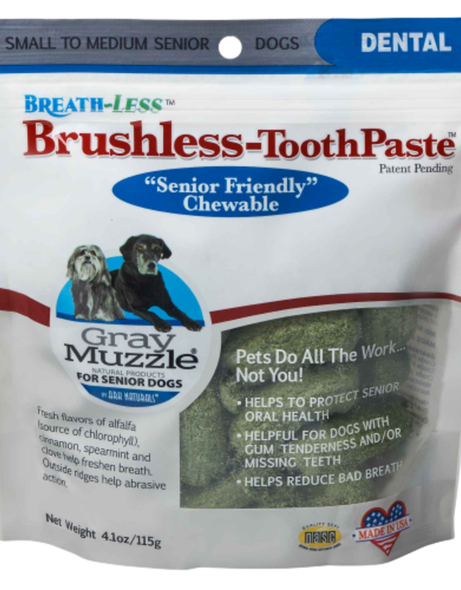 Ark Naturals Gray Muzzle Toothpaste