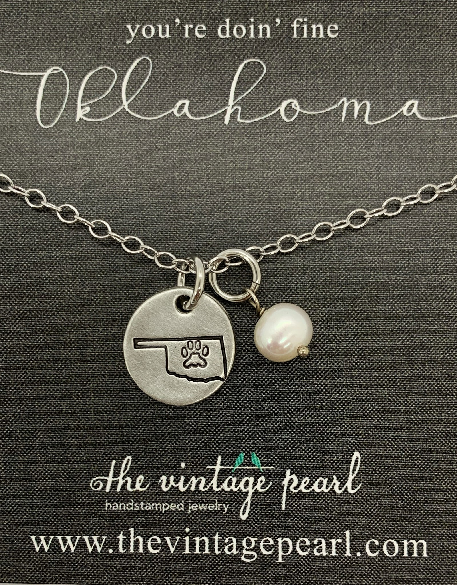 The Vintage Pearl You're Doin' Fine Necklace
