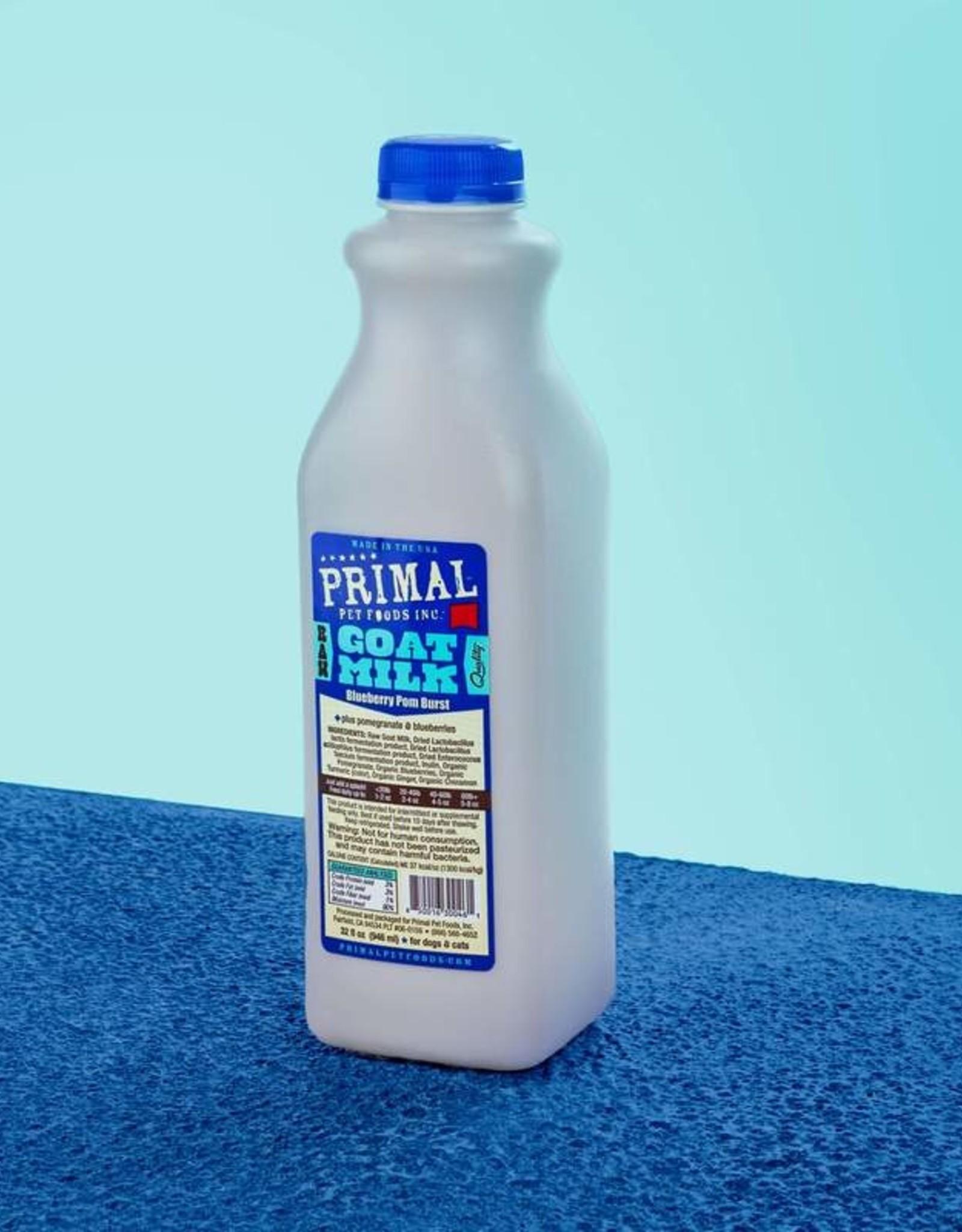 Primal Blueberry Pomegranate Goat Milk 32oz