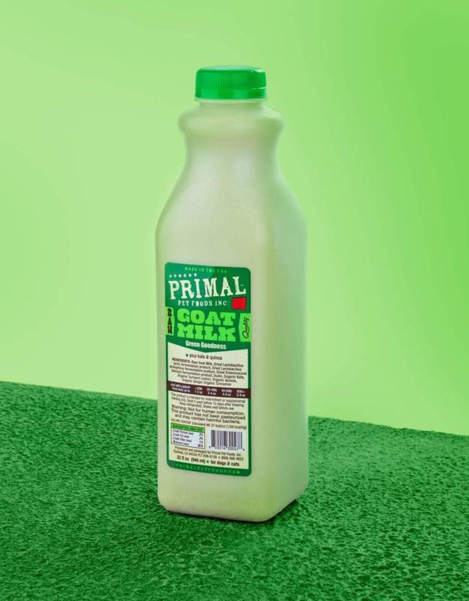 Primal Green Goodness Goat Milk 32oz