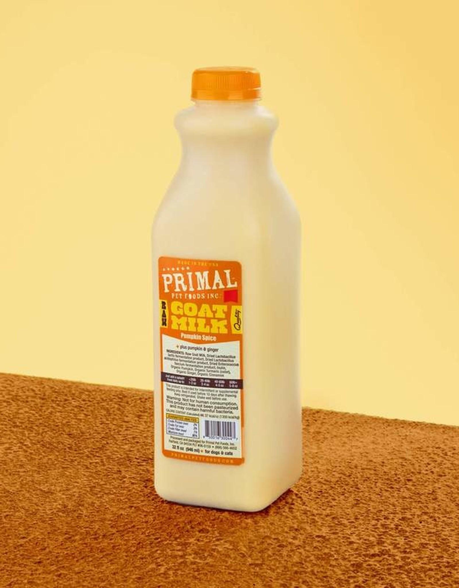 Primal Pumpkin Spice Goat Milk 32oz