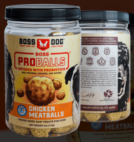 BossDog Proball Chicken Meatballs 6oz