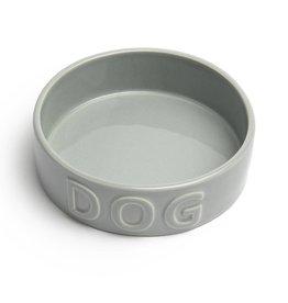 Park Life Designs Classic Dog Grey Pet Bowl