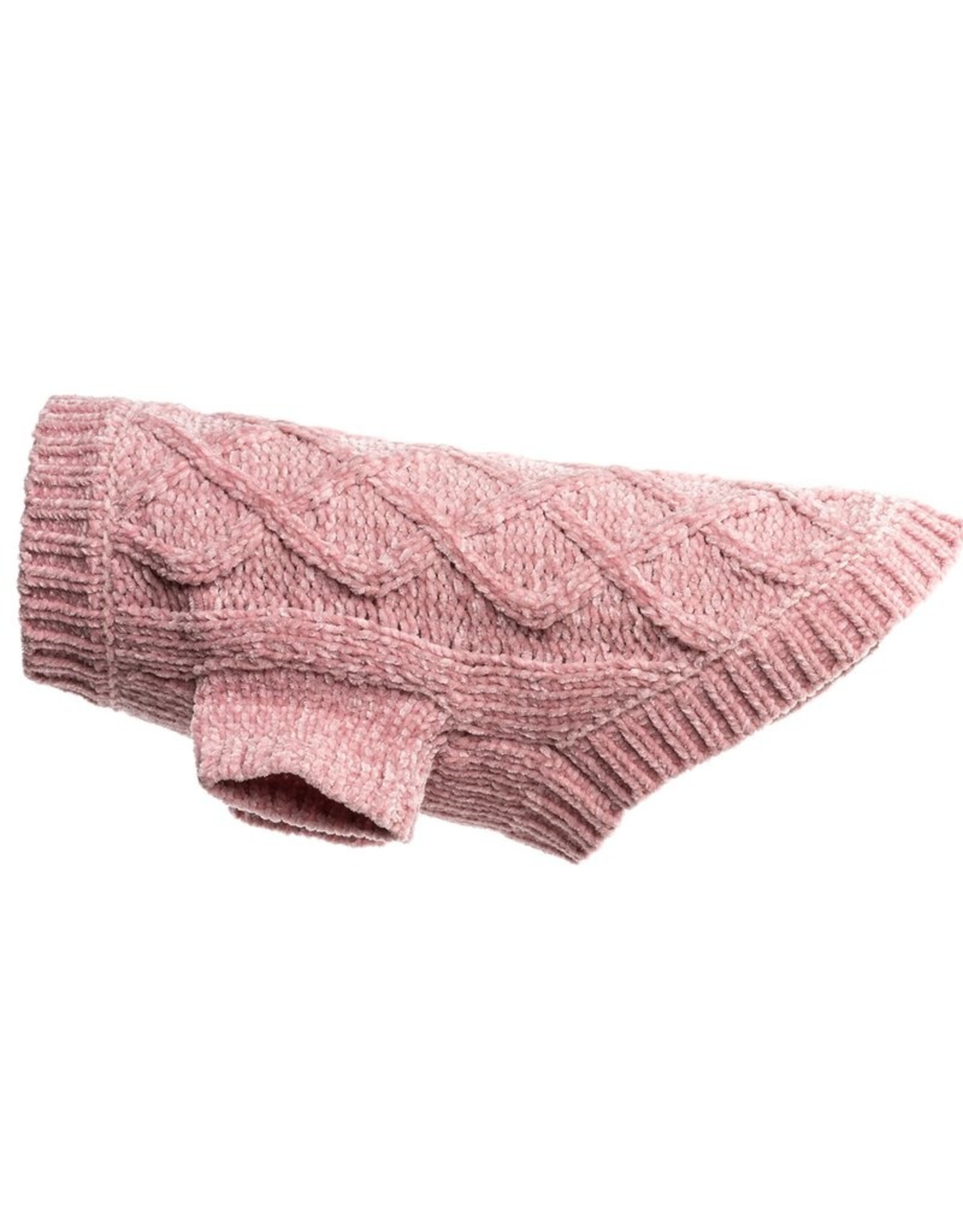 Fab Dog Pink Chenille Sweater