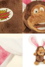 GoDog Silent Squeaks - Monkey/Rabbit