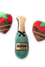 Fringe Studio Small Dog 3pk -  Champagne & Strawberries