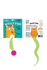 Dezi & Roo Wiggly Worm Ping Pong Ball