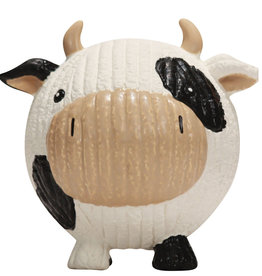 Huggle Hounds RuffTex Cow Large