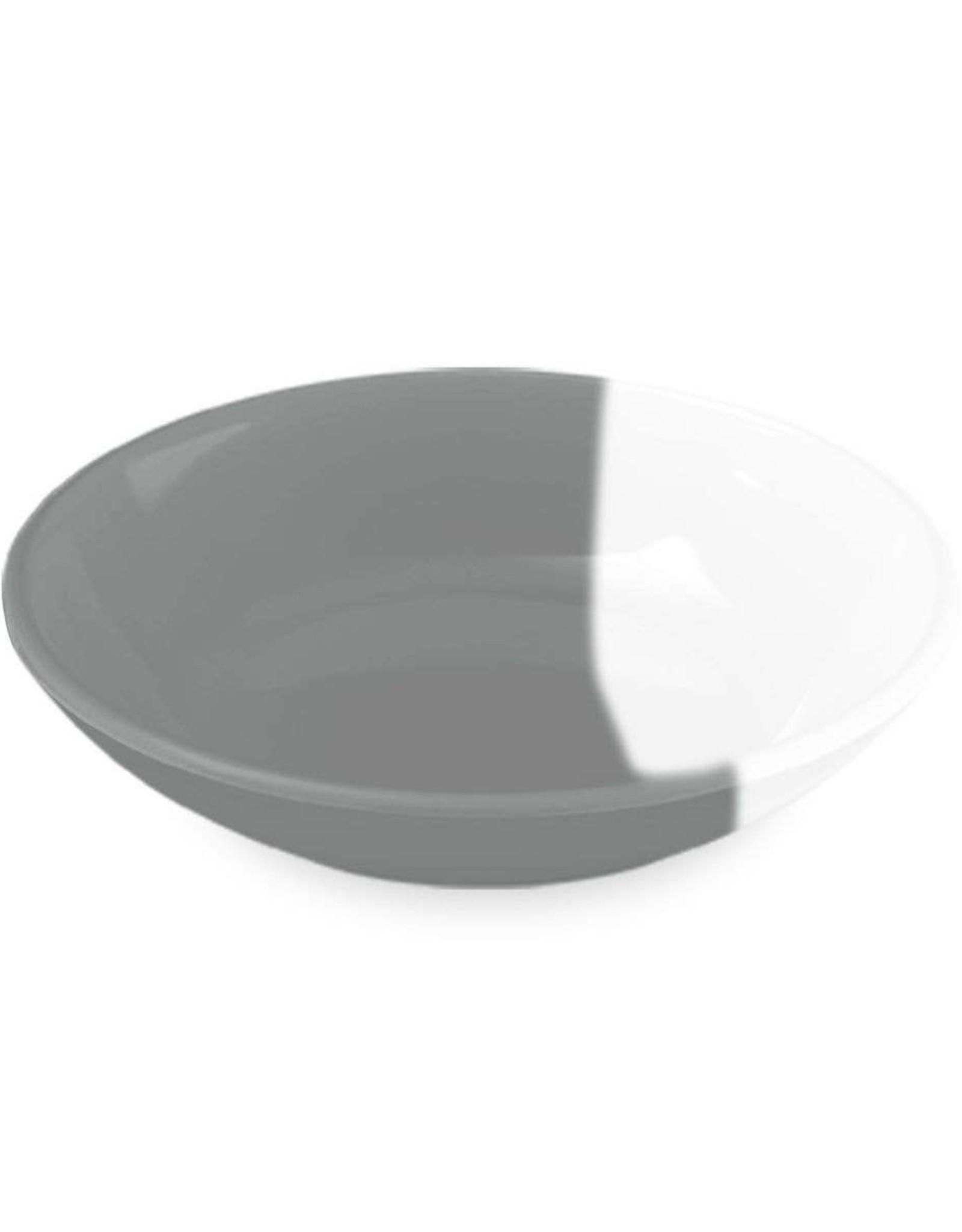 TarHong Gray/White Pet Saucer