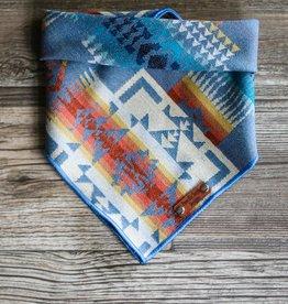 Pawcific North Designs Blue Chief Joseph Bandana