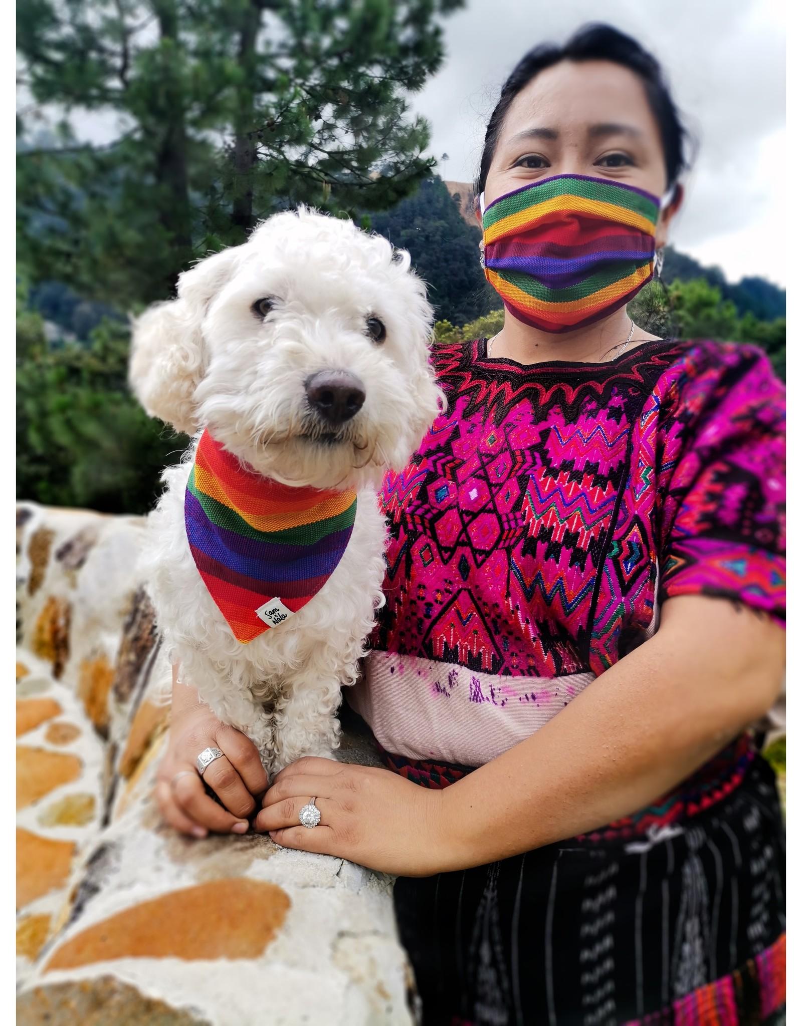 Sam & Nala Rainbow Mask