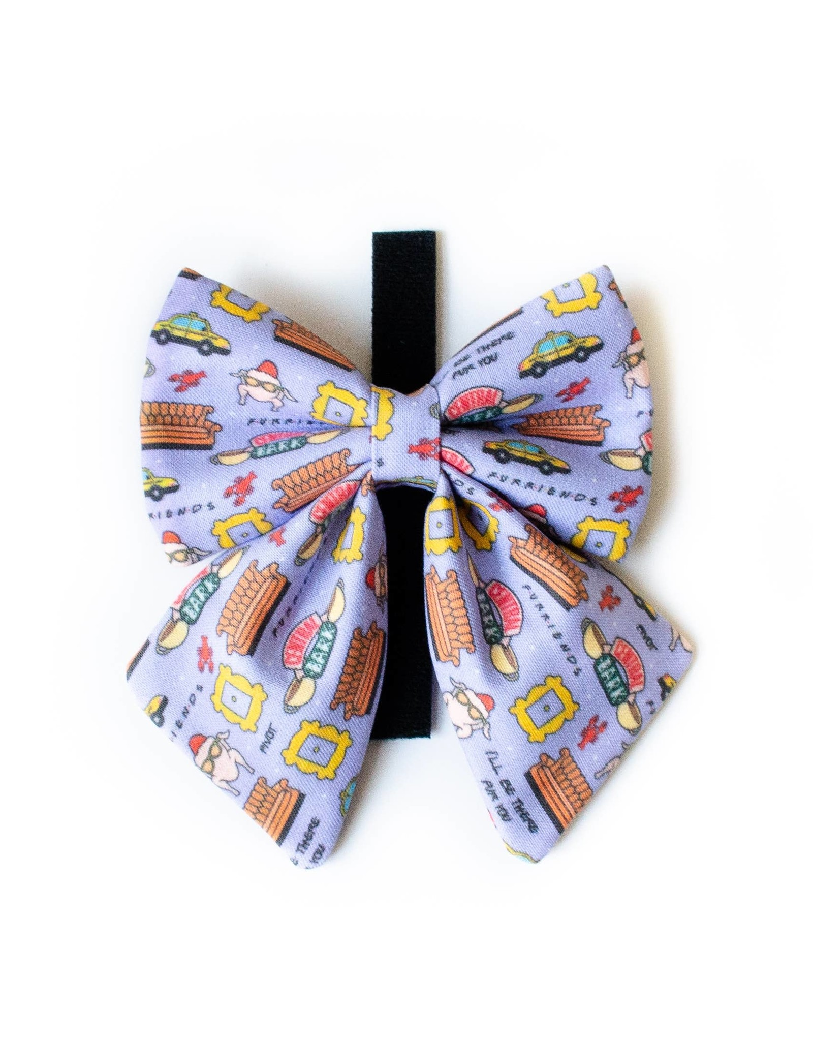 Pawties Central Perk Neck Bow
