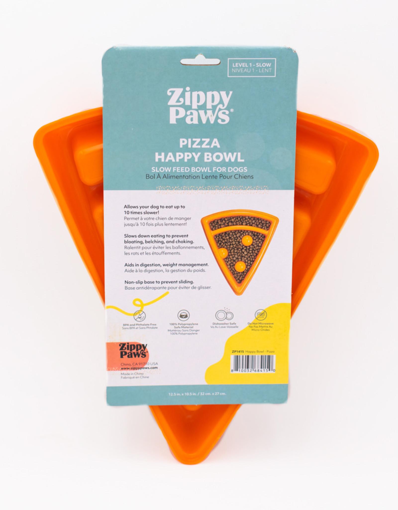 Zippy Paws Pizza Happy Bowl