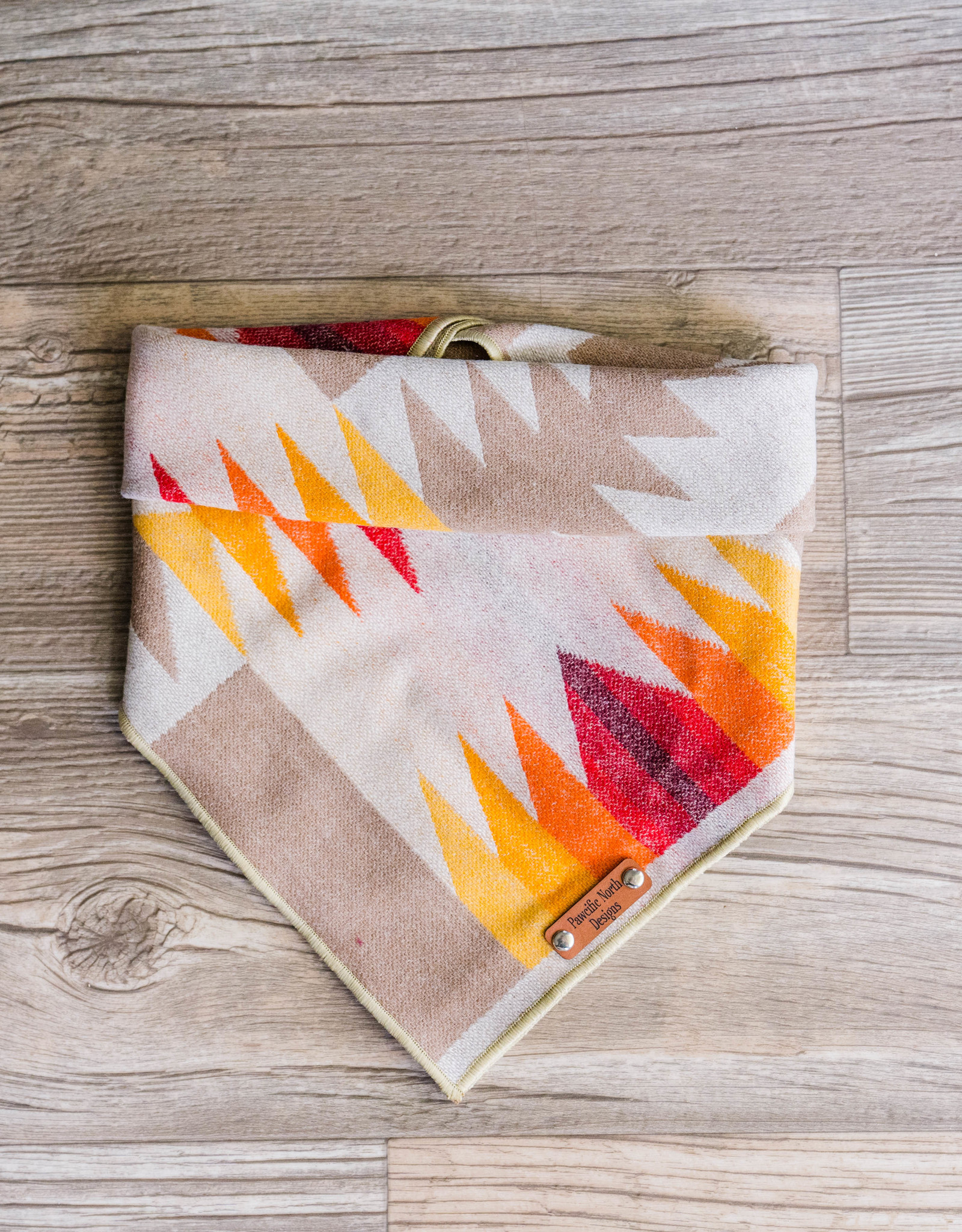 Pawcific North Designs Harding Cream Bandana