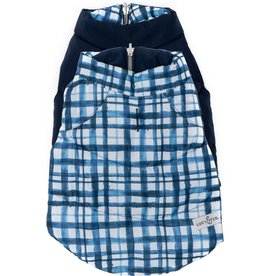 Lucy & Co True Blue Puffer Vest (Reversible)