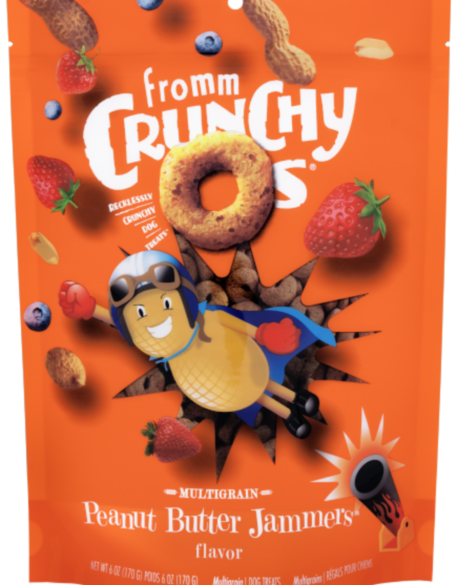 Fromm Crunchy O's PB Jammers 6oz