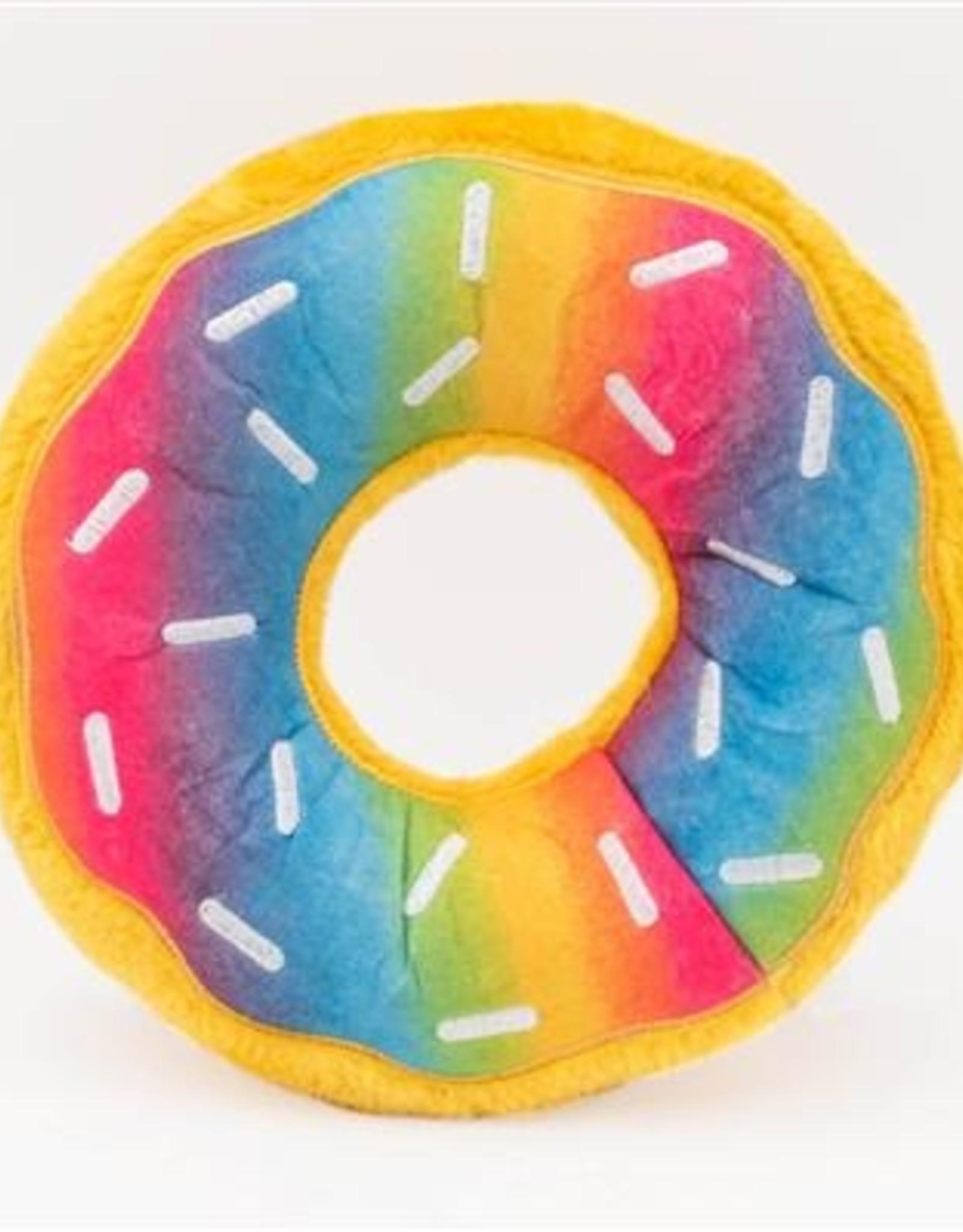 Zippy Paws Rainbow Donutz