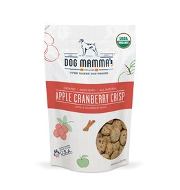 Dog Mamma's LLC USDA Organic Apple Cranberry Crisp Treats