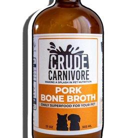Crude Carnivore Pork Bone Broth 17oz