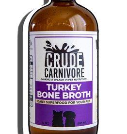 Crude Carnivore Turkey Bone Broth 17oz