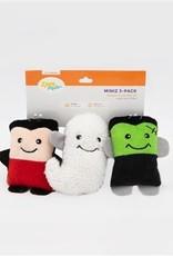 Zippy Paws Miniz Monsters 3 Pack