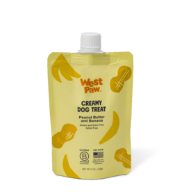 West Paw Peanut Butter & Banana Pouch 5oz