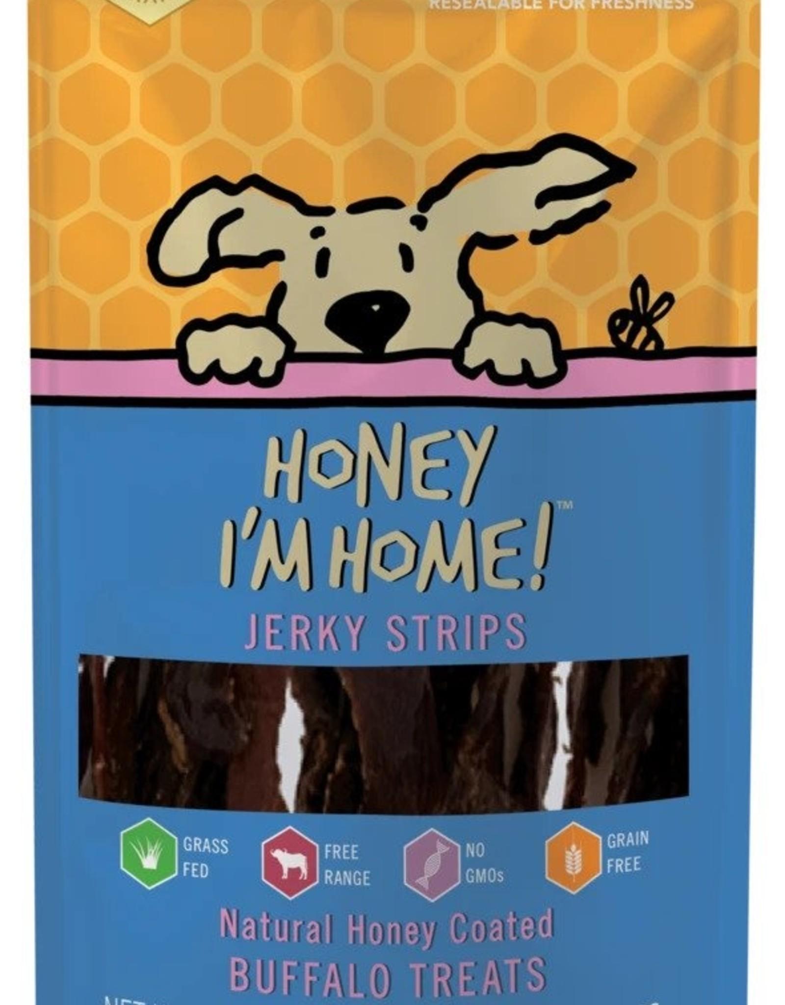 Honey I'm Home Buffalo Jerky Strips
