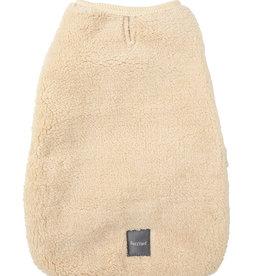 FuzzYard Beige Teddy Wrap Vest